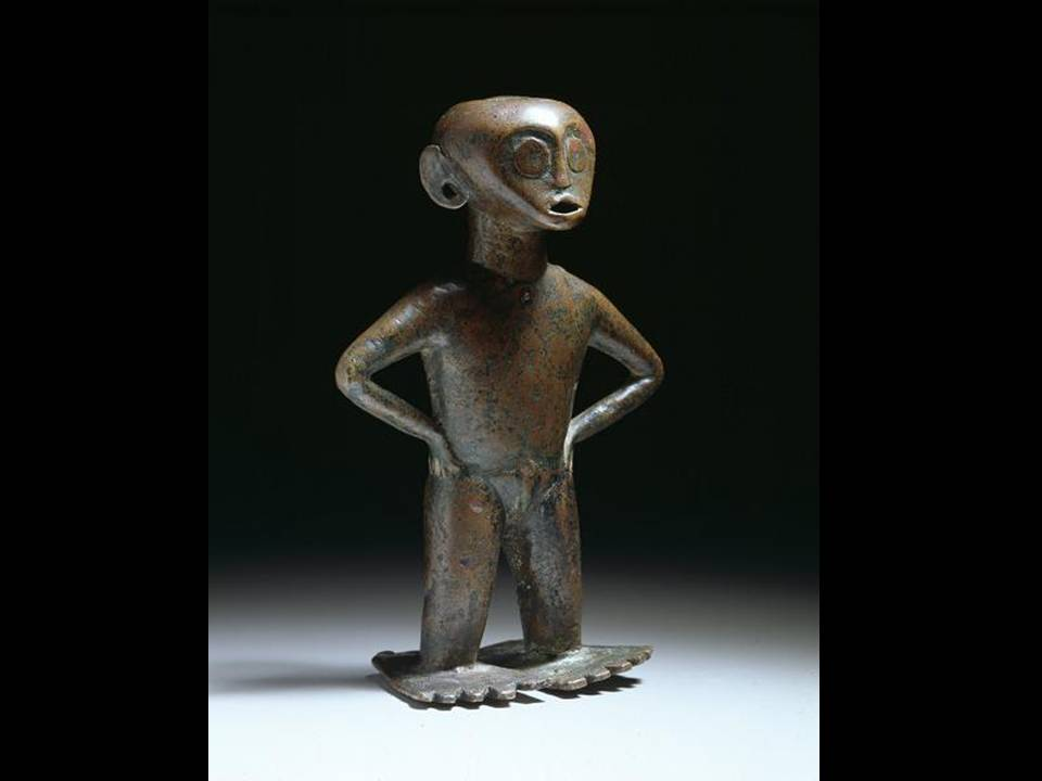 Standing femal figure, 14th-15th century, Indonesia