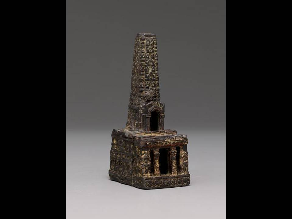 Model of Bodhgaya Temple, 10th century, India