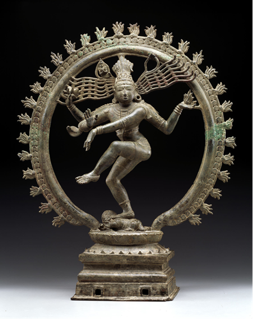 Shiva Nataraja, sculpture, bronze, Chola dynasty, 11th century, Dallas Museum of Art, gift of Mrs. Eugene McDermott, the Hamon Charitable Foundation, and an anonymous donor in honor of David T. Owsley, with additional funding from The Cecil and Ida Green Foundation and the Cecil and Ida Green Acquisition Fund, 2000.377